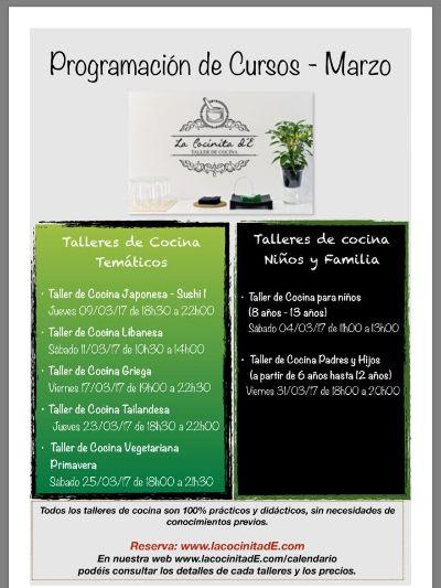 Taller Cocina griega - eventos Fuerteventura Talleres y cursos ...